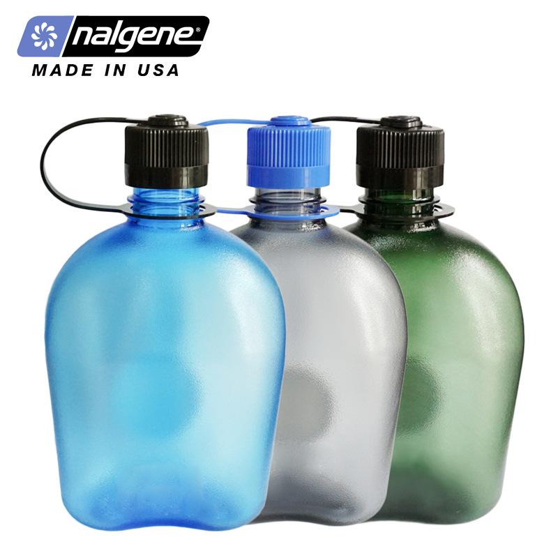 美国Nalgene雷锋壶运动水壶塑料水杯户外健身太空杯便携式水瓶1L