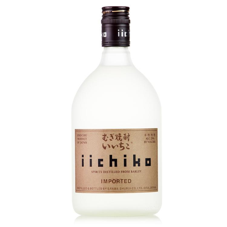 亦竹烧酒 日本原装进口 亦竹麦烧酒 Iichiko 720ml正品