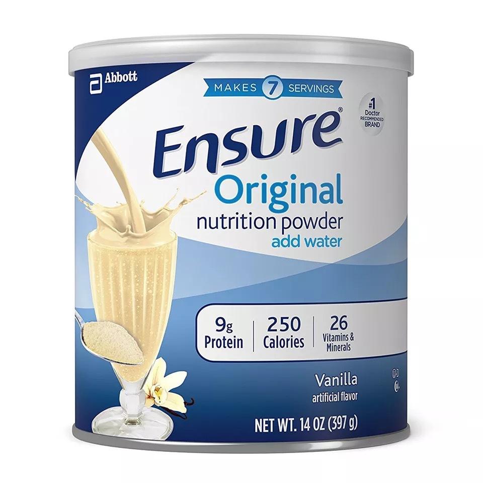 美国雅培安素Ensure成人高蛋白质粉孕妇奶粉397g