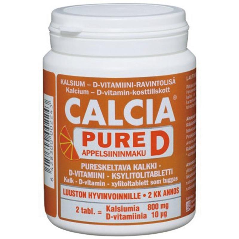 芬兰汉诺金 克尔松 珊瑚钙 片-5224 孕妇 儿童咀嚼钙 进口保健品