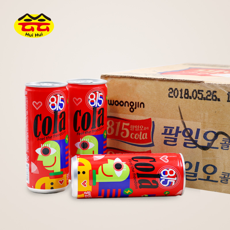 韩国进口可乐 815可乐 碳酸饮料 250ml*30