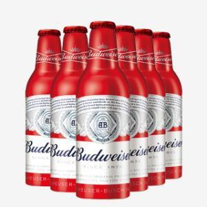 百威啤酒 355ML*24 百威铝瓶 百威红铝罐 新产品 9.7度