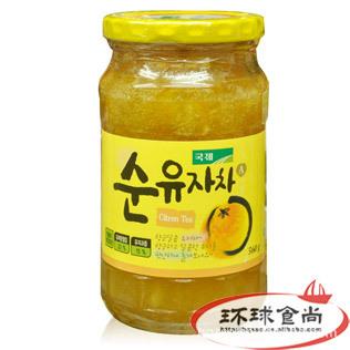 韩国国际JK柚子茶560g 休闲食品 保健食品 畅销进口热卖
