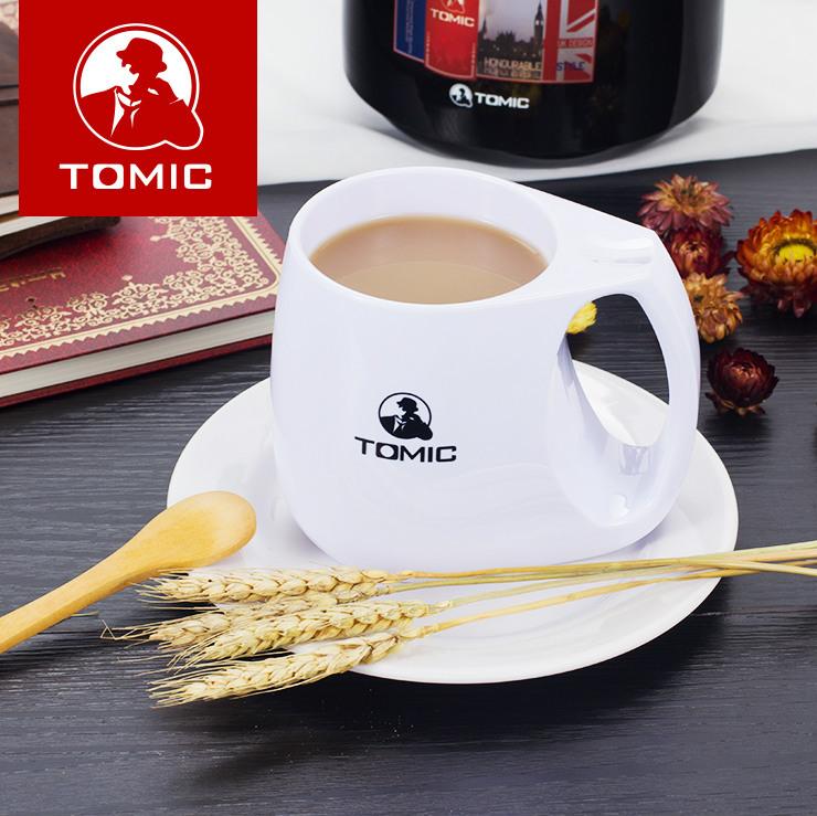 TOMIC特美刻 进口创意马克杯 情侣水杯子对杯 高档亚克力杯