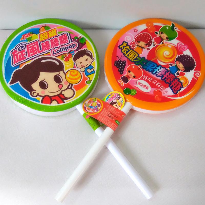 超级大棒棒糖台湾超级旋风棒棒糖120g 儿童生日礼物
