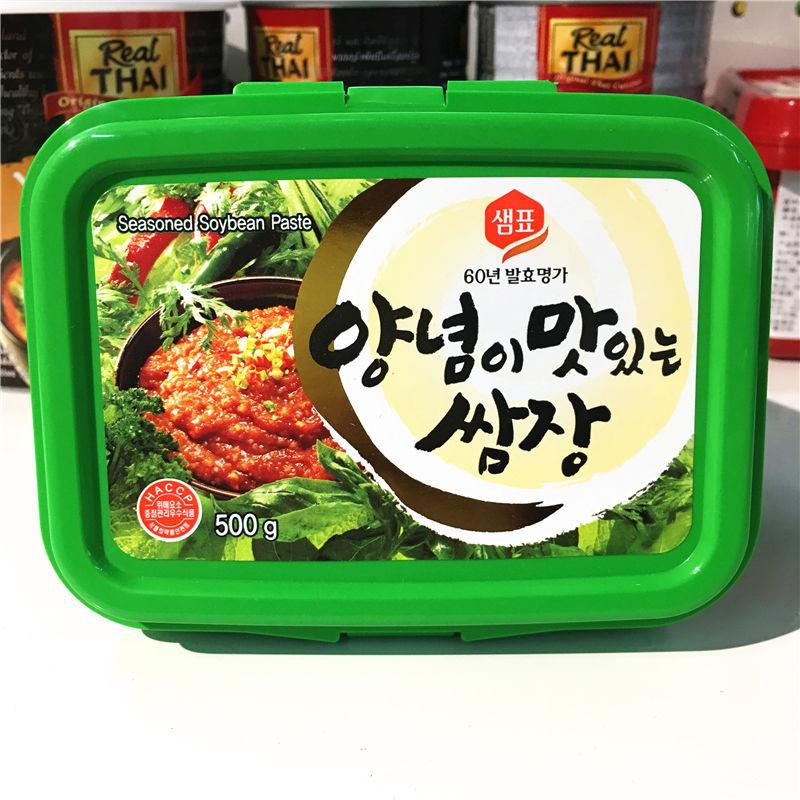 韩国膳府进口包饭酱 韩式大酱料理拌饭酱烤肉酱烧烤调味酱500g