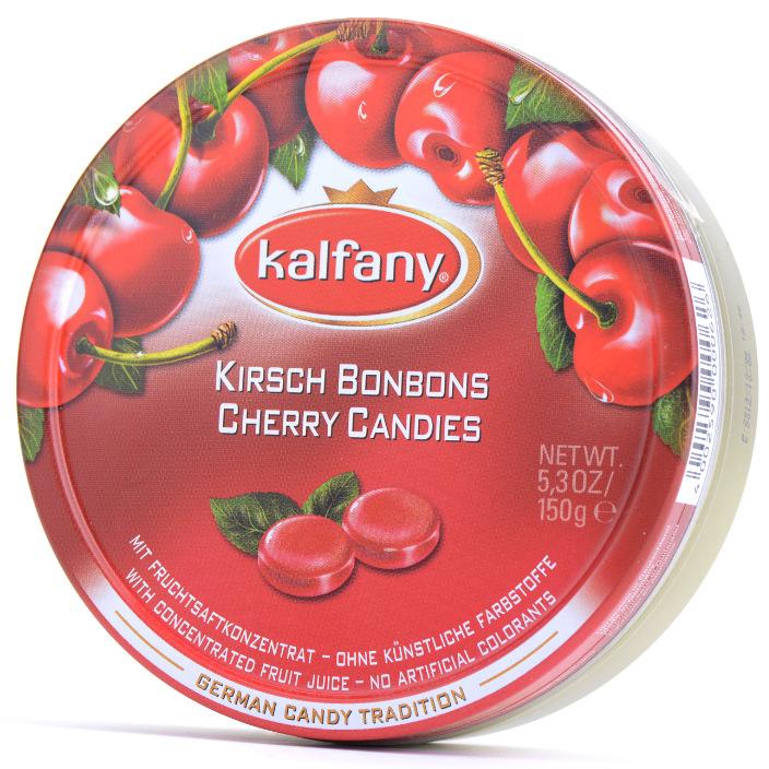 卡芬妮水果糖铁盒装水果糖零食Kalfany多口味150g