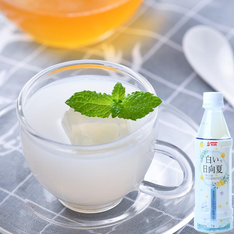 日本进口 日向夏橙乳酸菌味饮料风味饮料(风味饮料) 350ml瓶装