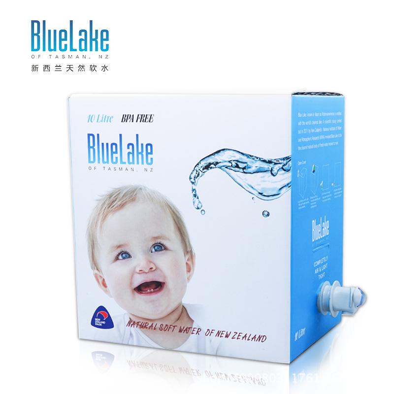 新西兰进口蓝湖BlueLake天然饮用水母婴水婴儿水10L 量大从优