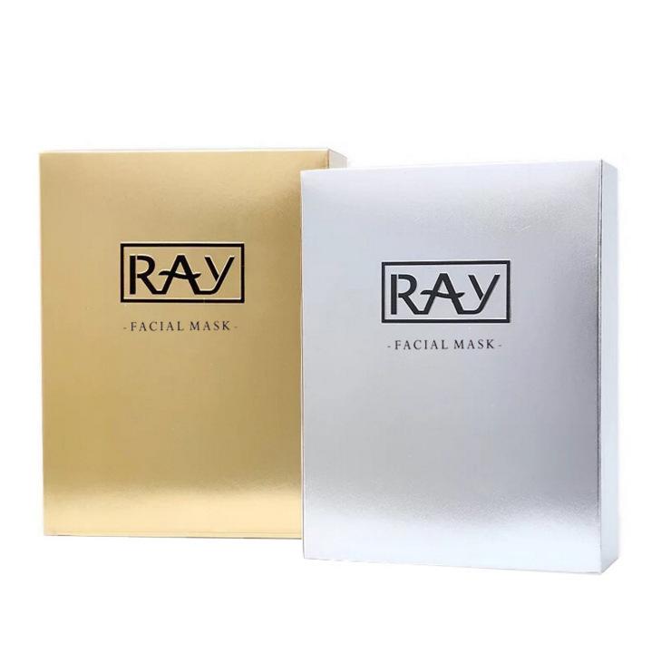 泰国ray蚕丝面膜美白淡斑补水保湿嫩肤收毛孔银色金色左木泰版