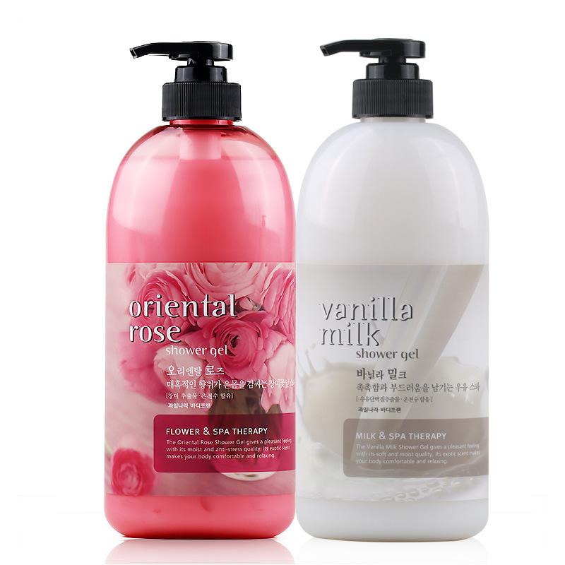 韩国正品Herietta水果之乡牛奶润肤洗浴沐浴露液保湿732ml大瓶
