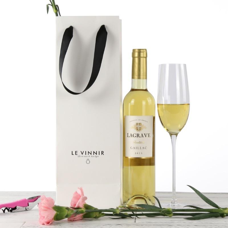 法国原瓶进口AOC蕰妮小白甜白葡萄酒礼盒红酒