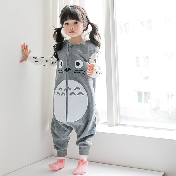 LITTLE LUZZI韩国婴幼儿睡袋 男女宝宝连体睡衣 米奇婴童分腿睡袋