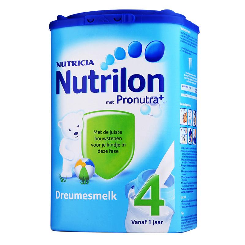 诺优能荷兰牛栏奶粉Nutrilon 4段(1-2岁)800G