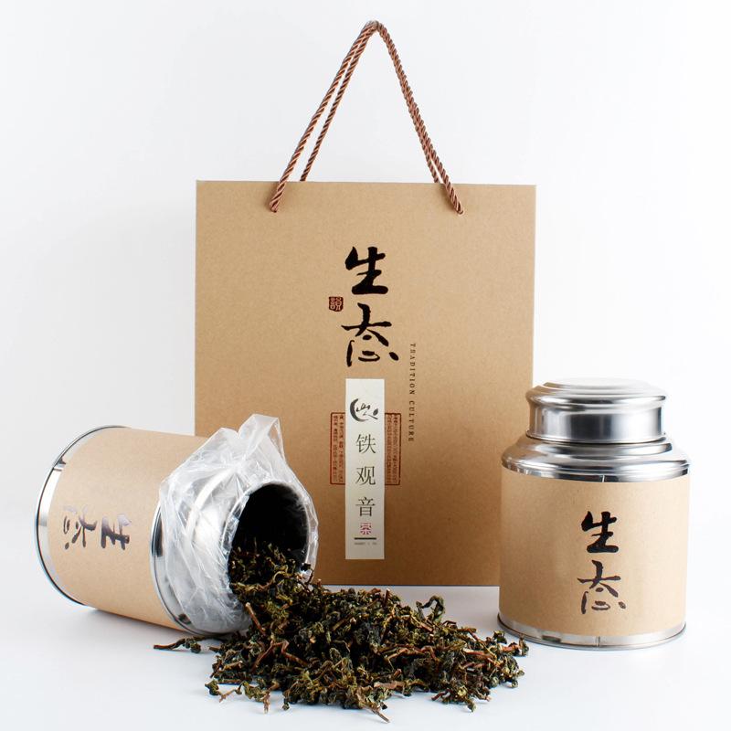 铁观音 茶叶 乌龙茶 礼品装 250克装 毛茶 山人名茶 茶叶