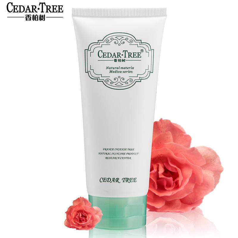 香柏树 保湿嫩白洁面乳洗面奶女 洁面膏 化妆品 正品