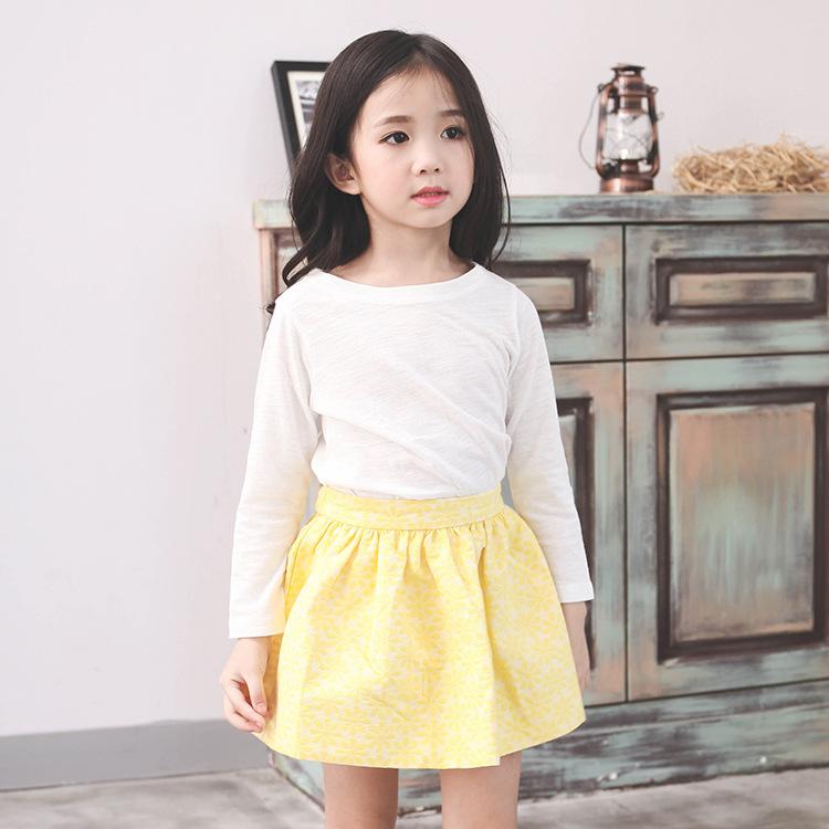 春季新款时尚纯棉童装女童连衣裙休闲中小童公主短裙