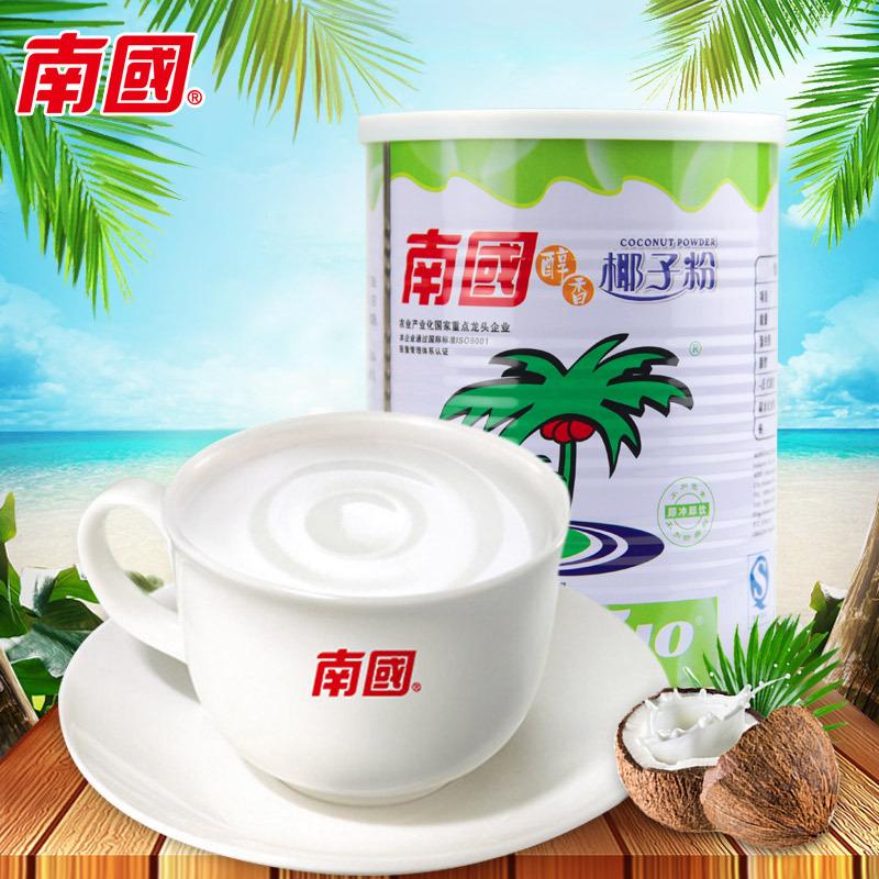 海南特产 南国醇香椰子粉450g(罐装)休闲饮品