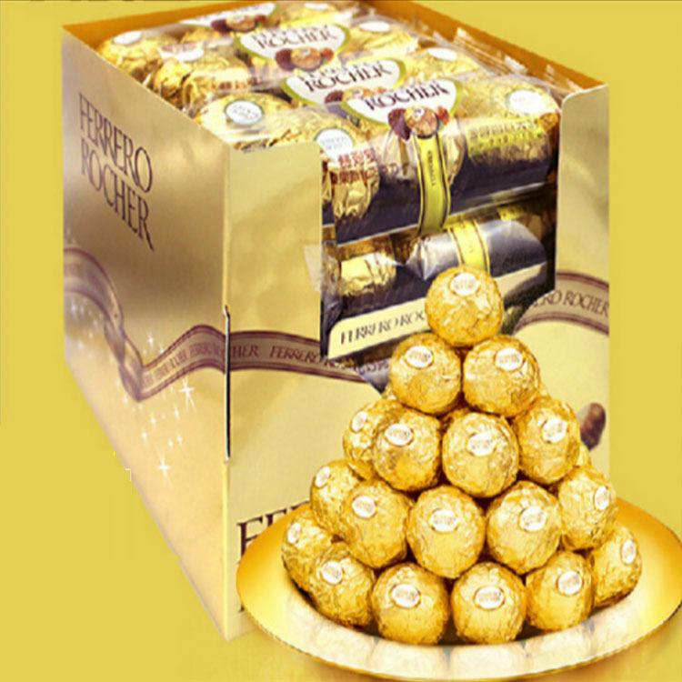 意大利进口零食 费列罗榛仁威化巧克力T3*16T48粒装