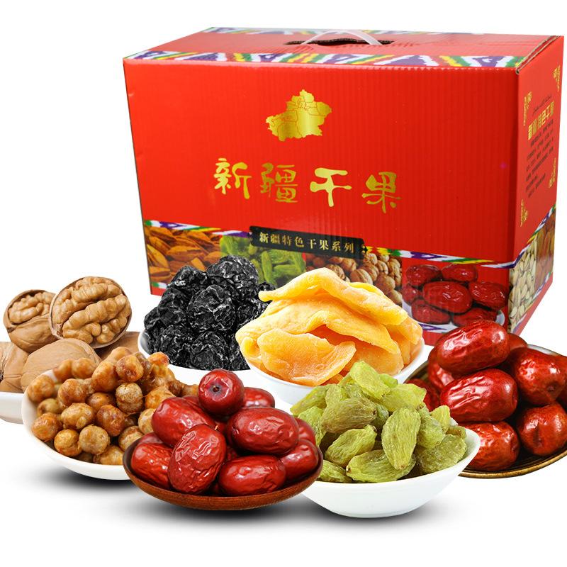 新疆特产 年货礼盒装 春节送礼 单位福利4公斤礼盒装低