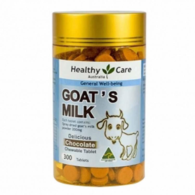 澳洲进口Healthy Care 羊奶片 巧克力味 300片 儿童食品
