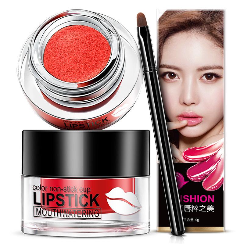 韩婵水魅惑气垫口红 补水保湿唇彩 不易沾杯彩妆化妆品 美妆