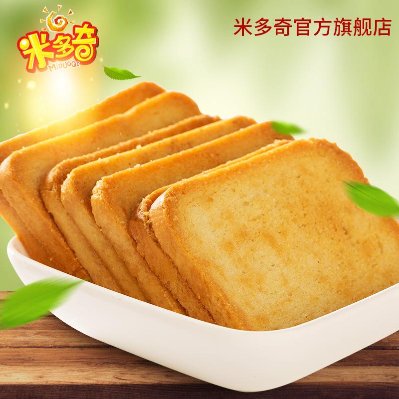 多奇4kg整箱烤香馍片早餐烤馍饼干粗粮馒头片零食品整箱