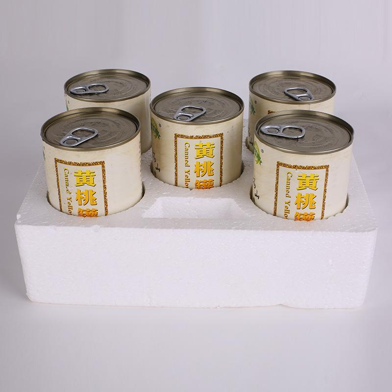 正宗砀山黄桃罐头水果罐头对开黄桃脆黄桃