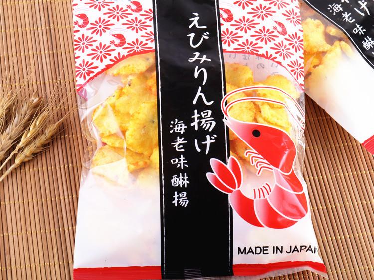 正规进口 日本 卡昵诗虾味脆片 膨化食品