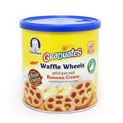 美国Gerber嘉宝香蕉车轮饼干