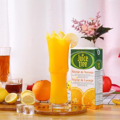 西班牙进口饮料 果乐多橙汁饮料1L盒装