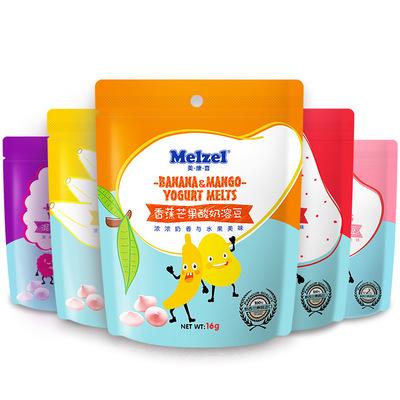 新西兰原装进口美康喜水果酸奶溶豆