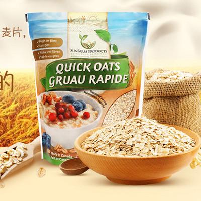 加拿大进口SunFarm燕麦片 1kg袋装