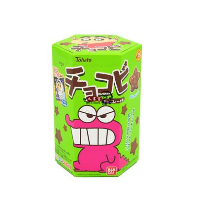 日本进口零食桃哈多栗米条蜡笔小新粟米星巧克力饼干