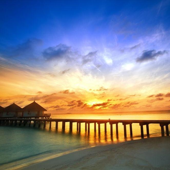 马尔代夫维莉督岛5晚7日自由行(上海东航直飞 2沙+2水 HB 水飞 送一晚马累住宿)