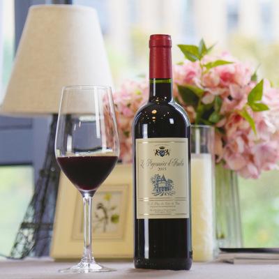 法国原瓶进口红酒天使爱美丽半甜红葡萄酒