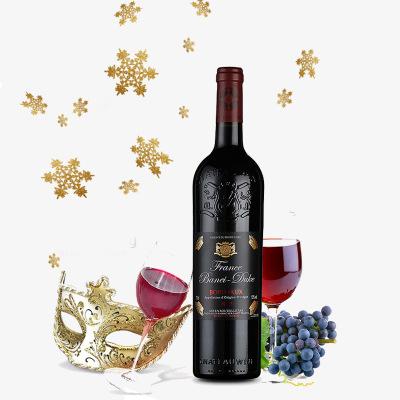 送礼佳品原瓶进口干红葡萄酒法国波尔多AOP芭内杜克2012红酒