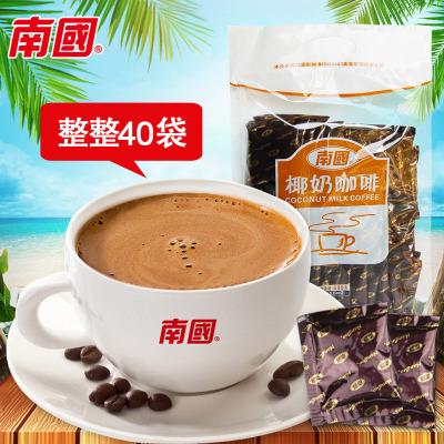 海南特产 南国椰奶咖啡680g 浓香休闲办公室饮品