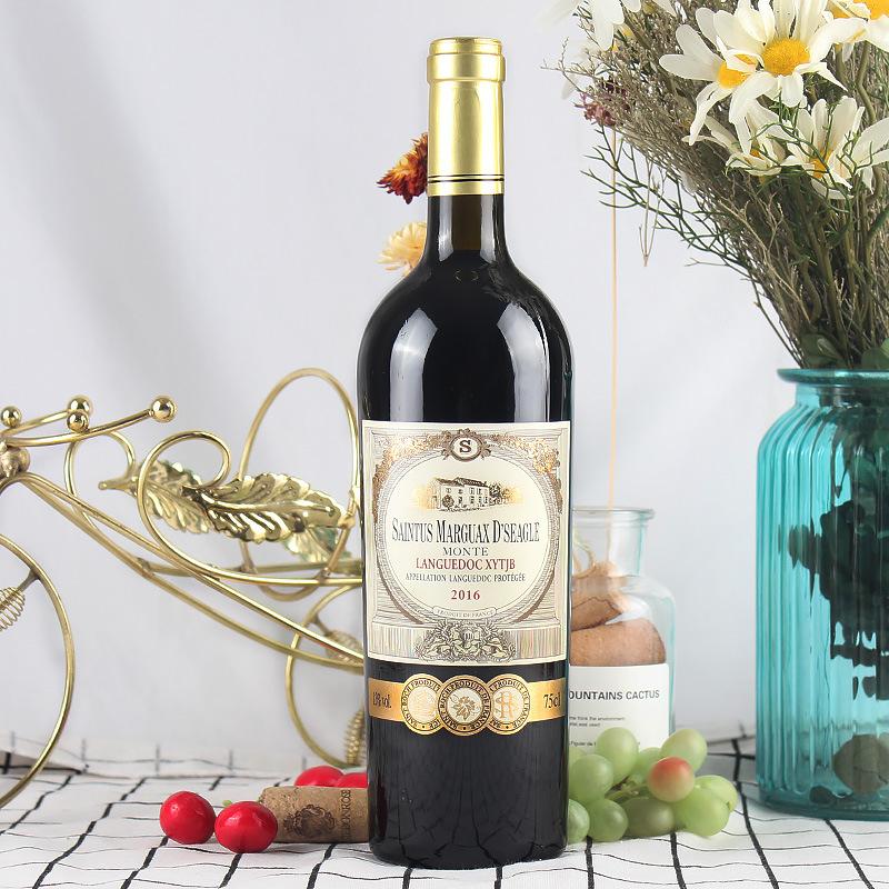 182法国原瓶进口  圣图斯玛歌仕蒙特干红葡萄酒  2016·AOC级·13%vol  原价;538元/瓶,特价;78元/瓶