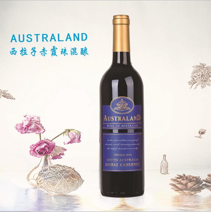 澳洲葡萄酒原瓶原装进口 团购批发750ml