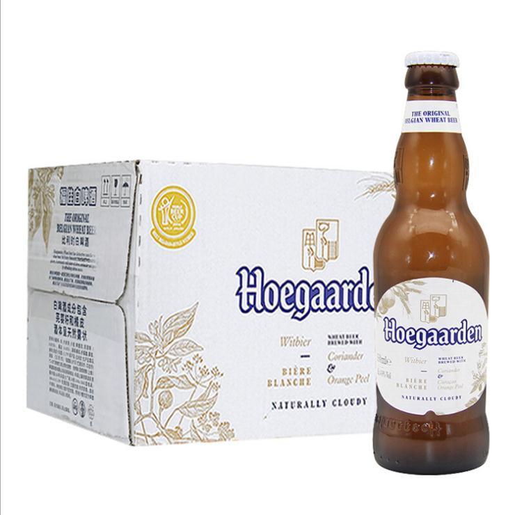 比利时原装进口 福佳白啤酒330ml*24瓶装批发