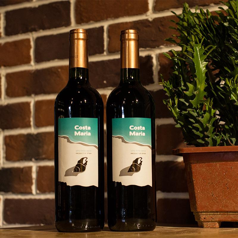 西班牙原瓶进口·2015·马丽亚·海之情·12%vol干红葡萄酒