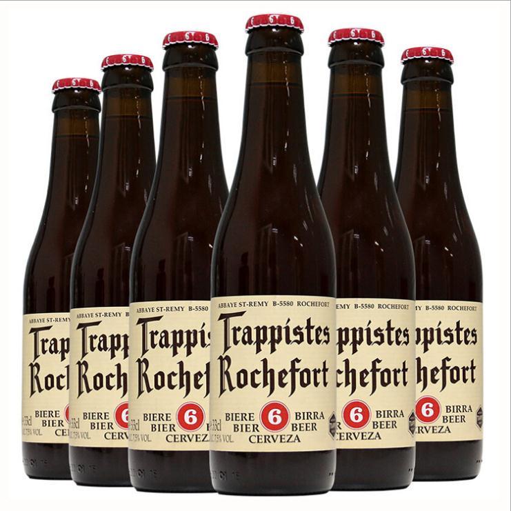 比利时原装进口 罗斯福6号精酿啤酒330ml*24瓶装批发