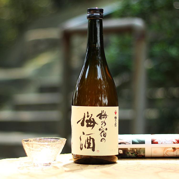日本奈良无果肉酒 梅乃宿梅子酒720ML女士酒批发