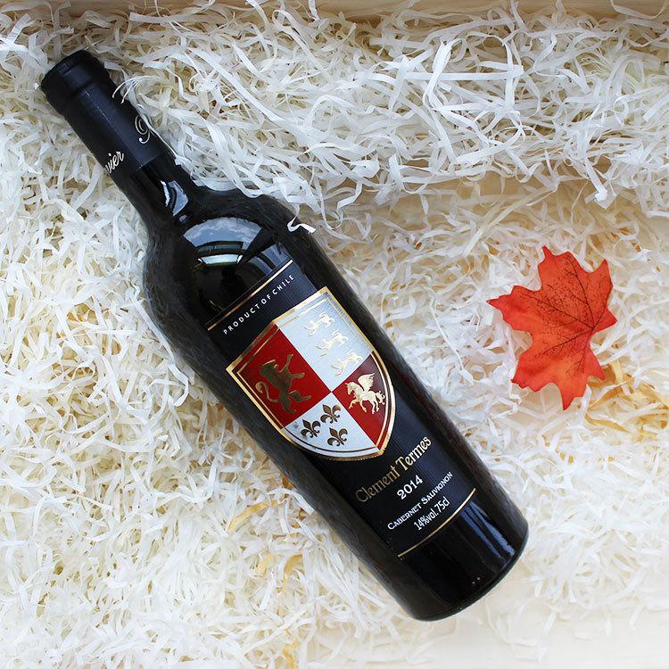 智利原瓶进口克莱门 14高度干红葡萄酒