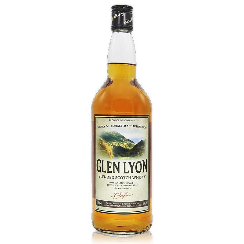 英国进口 格兰里昂苏格兰调配威士忌1升