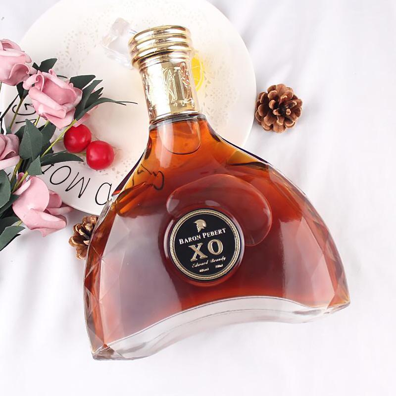 洋酒 法国原酒进口XO白兰地 700ml礼盒装 40度 批发团购