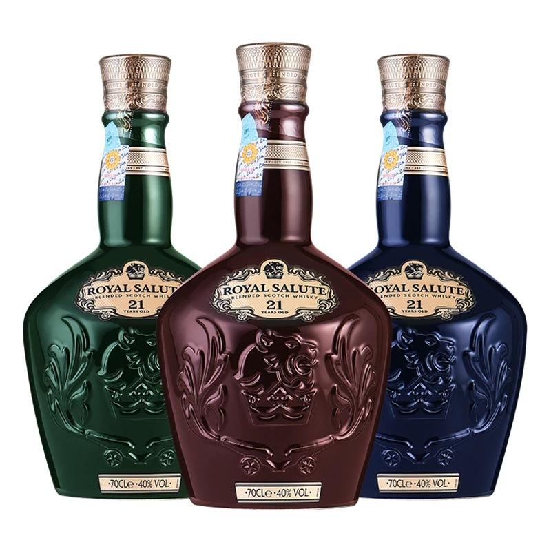 皇家礼炮21年威士忌700ml 夜场酒吧ktv威士忌