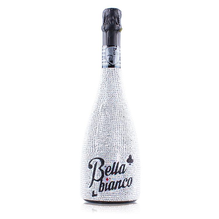 意大利 进口葡萄酒批发夜光之恋魅影银色钻石起泡酒750ml原装进口