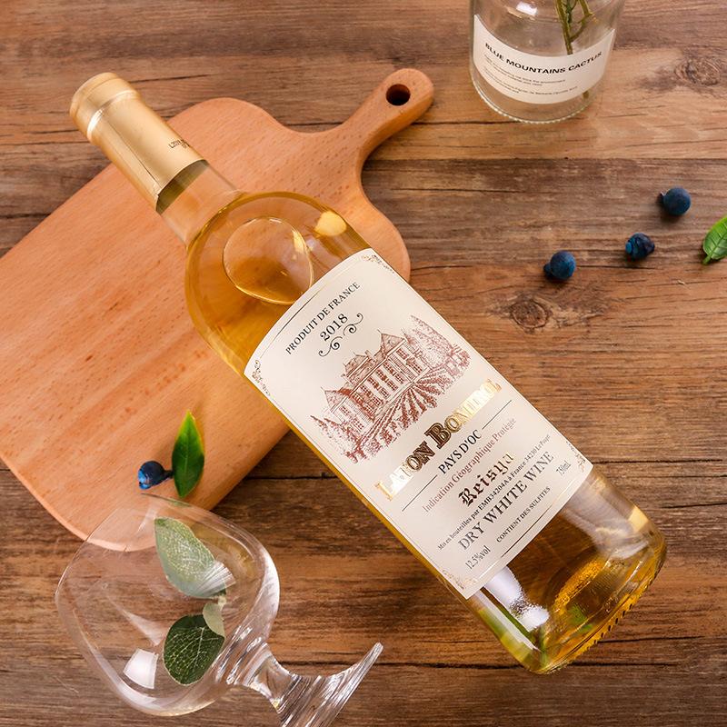 法国原瓶进口 拉图波米候·瑞斯娅干白葡萄酒2018年 VDF级 12.5%vol零售价:398元/瓶(2瓶起售)